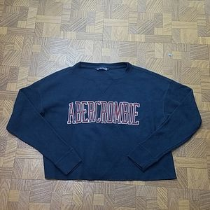 Abercrombie and Fitch xs crop waffle knit